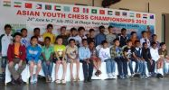 This year's championship was dominated by India. First, because of proximity to Sri Lanka they could bring a large number of players. Second, after Anand's success mane parents and children realized of great possibilities chess may present.