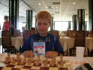 This first Europe Championship for Yaroslav Zherebukh, Montenegro 2005. The result wasn't too happy but he gained important experience. In less than 4 years he became a grandmaster.