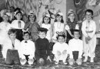 The chess group in kindergarten. Vita Chulivska and Andrei Grekh on the collective photo.