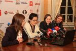 I could never imagine that my home city would host the world chess championship match, but after Mariya Muzychuck won the Woman Crown this became oneinalifetime reality. I was pleased to participate in the event as interpreter on press-conference. Though I studied applied linguistics, I chose profession of chess coach, so this was my first experience of interpreting. For me it was amazing combination of my education and my favorite sport.