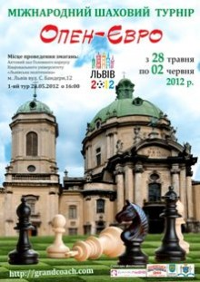 Open chess tournament EURO in LVIV